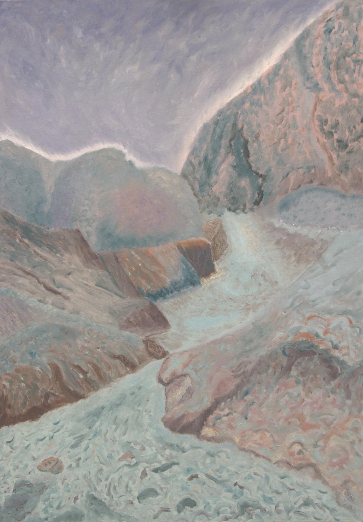 12 (olaj, vászon, 70x100 cm), 2009