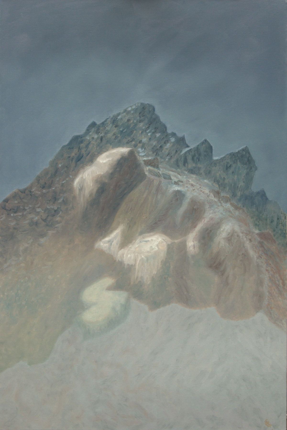 13 (oil on canvas, 80x120 cm), 2009-10