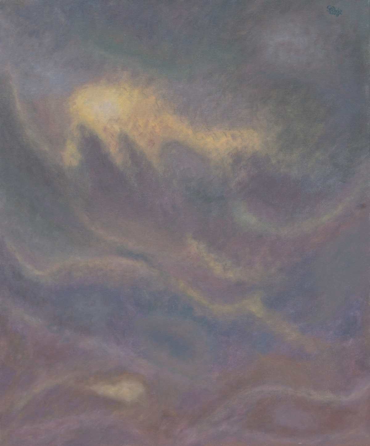 14 (olaj, vászon, 50x60 cm), 2008-09