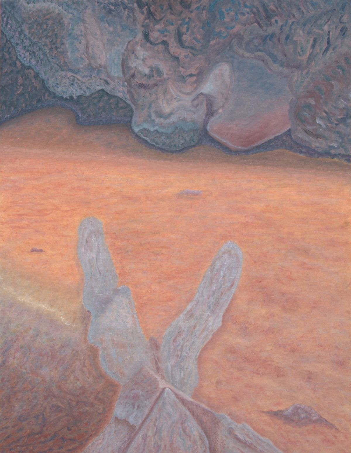 15 (oil on canvas, 70x90 cm), 2009-10