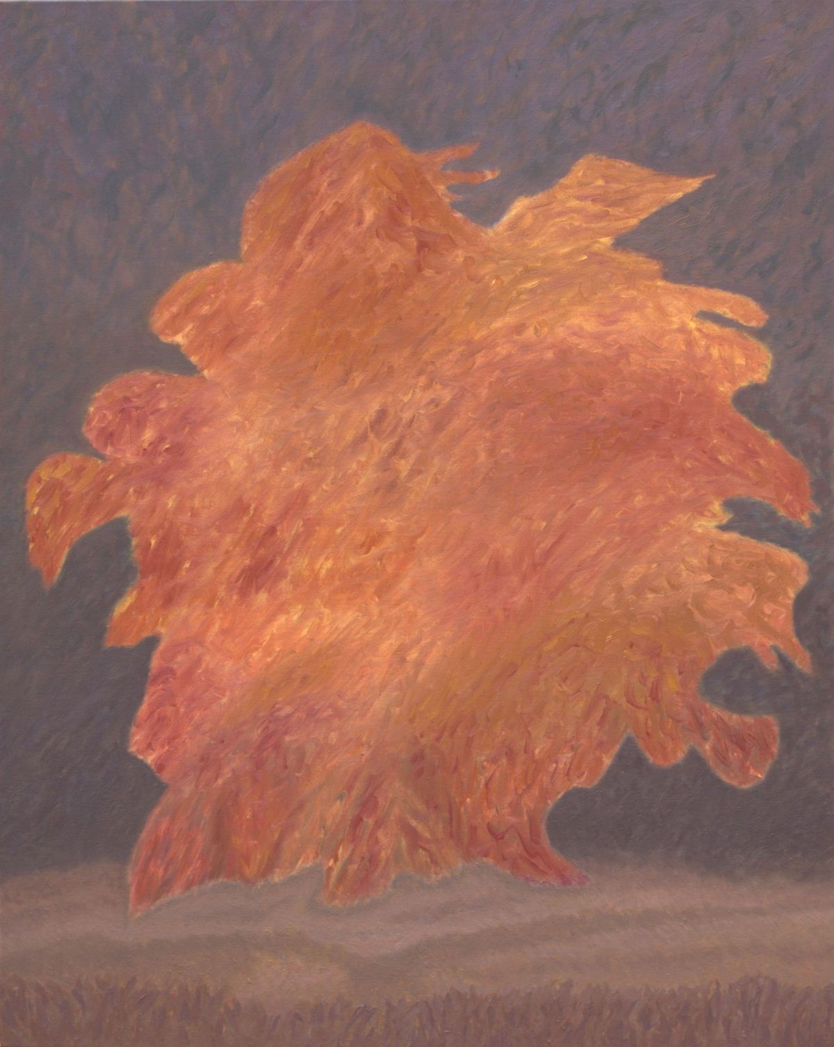 21 (oil on canvas, 80x100 cm), 2009-14