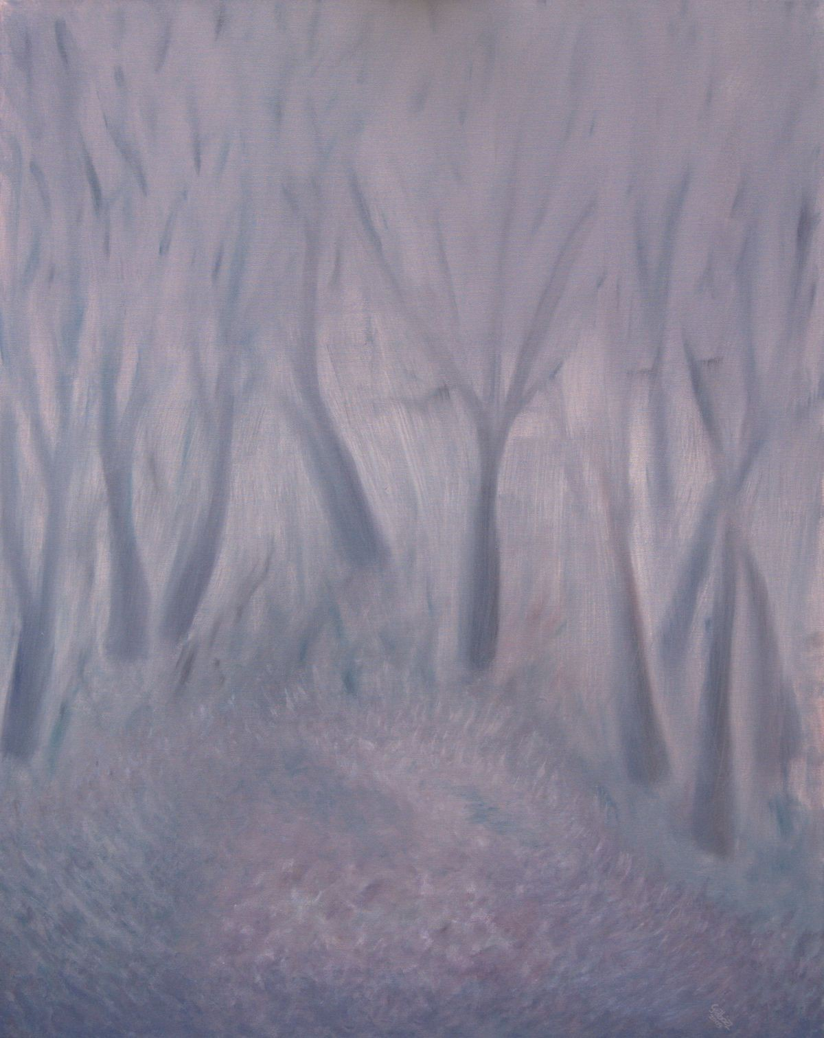 22 (oil on canvas, 80x100 cm), 2009