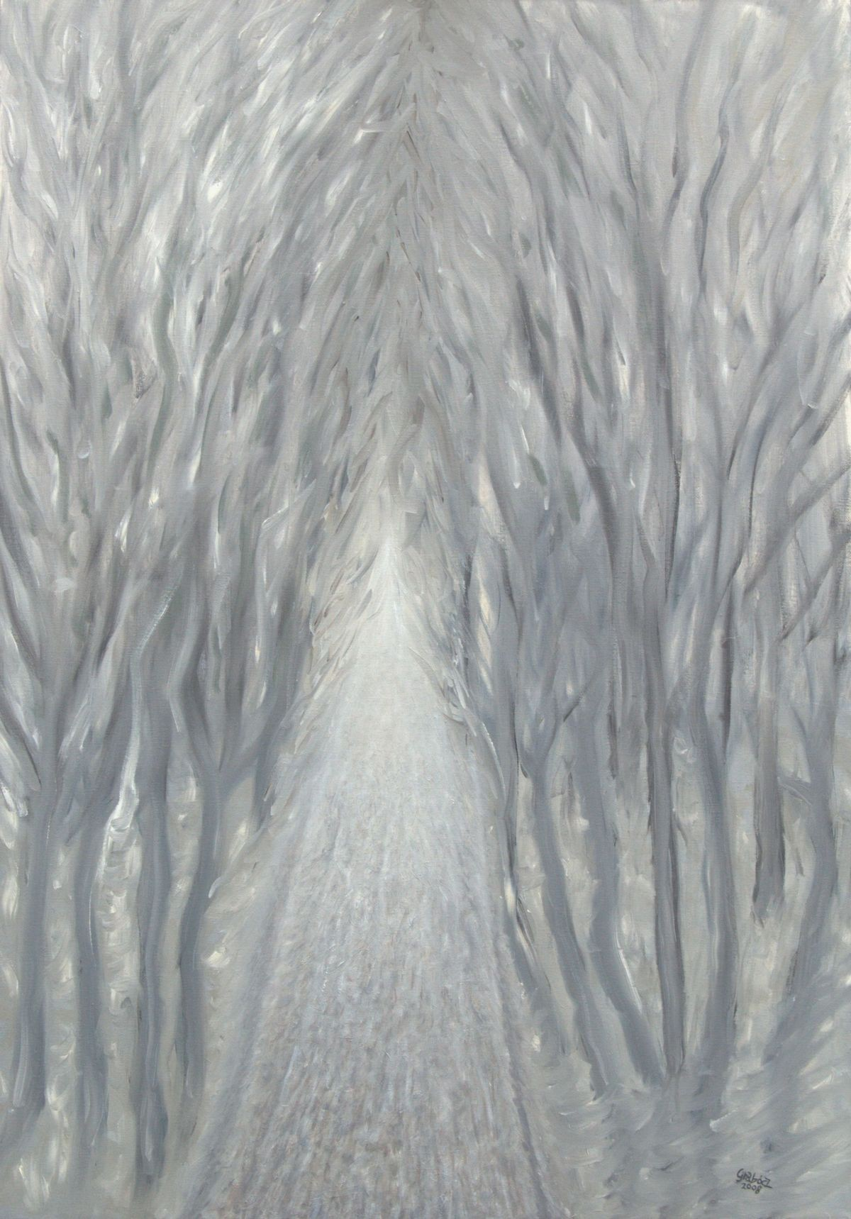 25 (oil on canvas, 70x100 cm), 2008-10