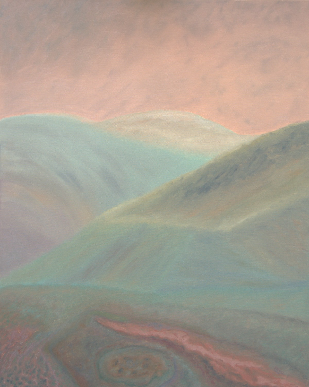 6 (oil on canvas, 80x100 cm), 2009-10