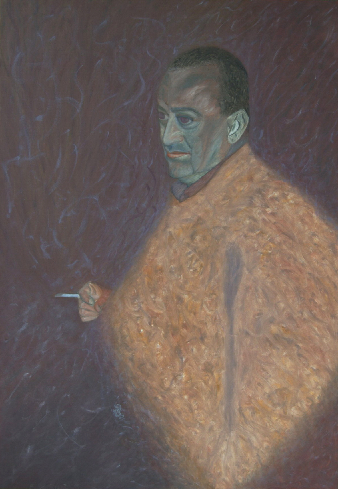 Mister Ivan  (oil on canvas, 70x100 cm), 2008