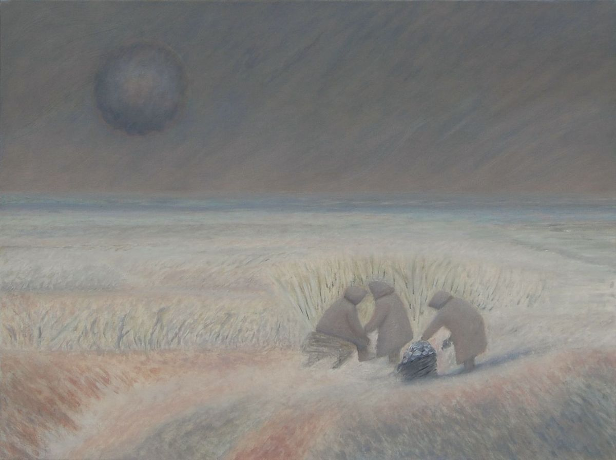 Three sisters (oil on canvas, 60x80 cm), 2008-15