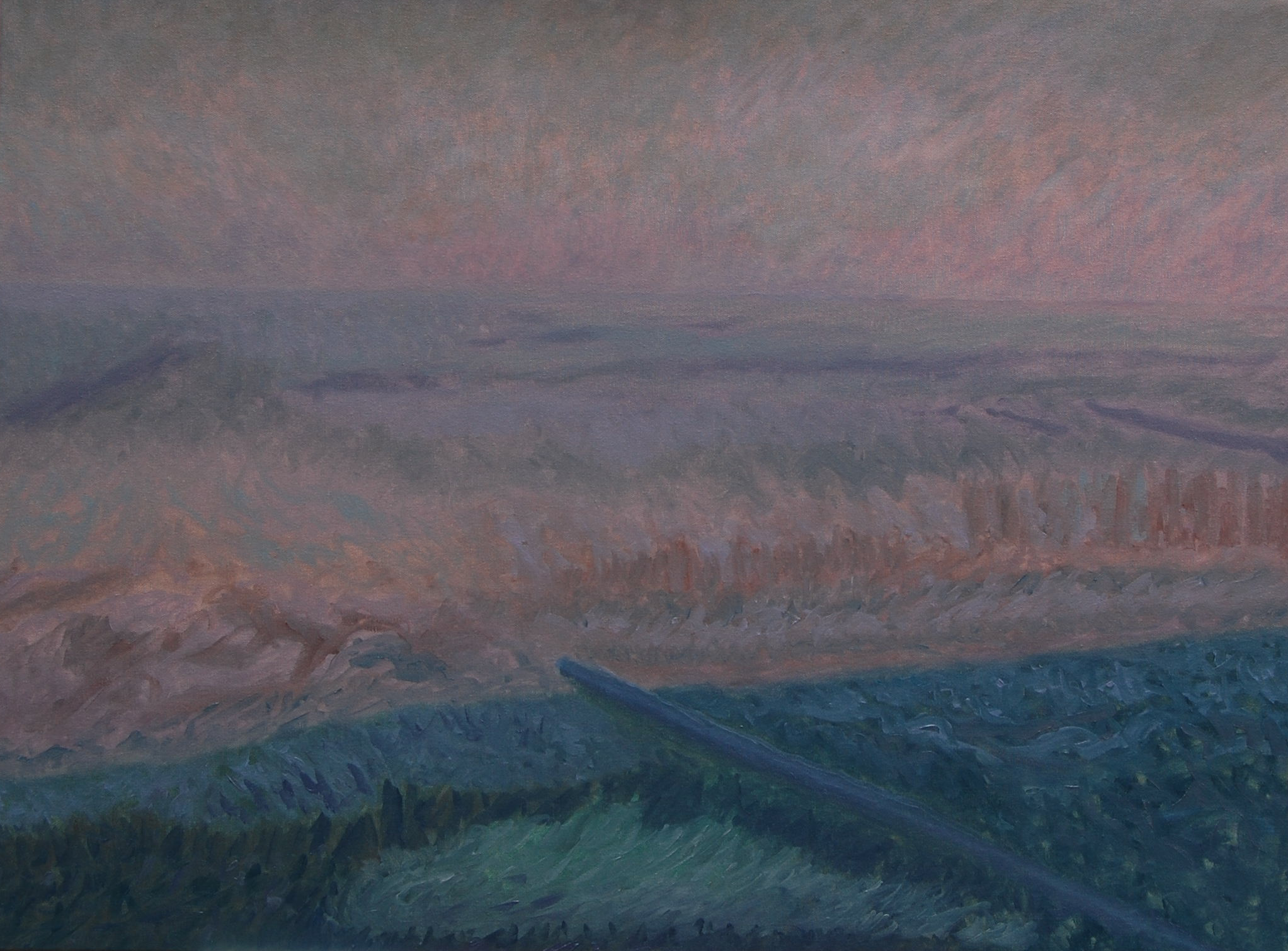 1 (oil on canvas, 80x60 cm), 2013-16