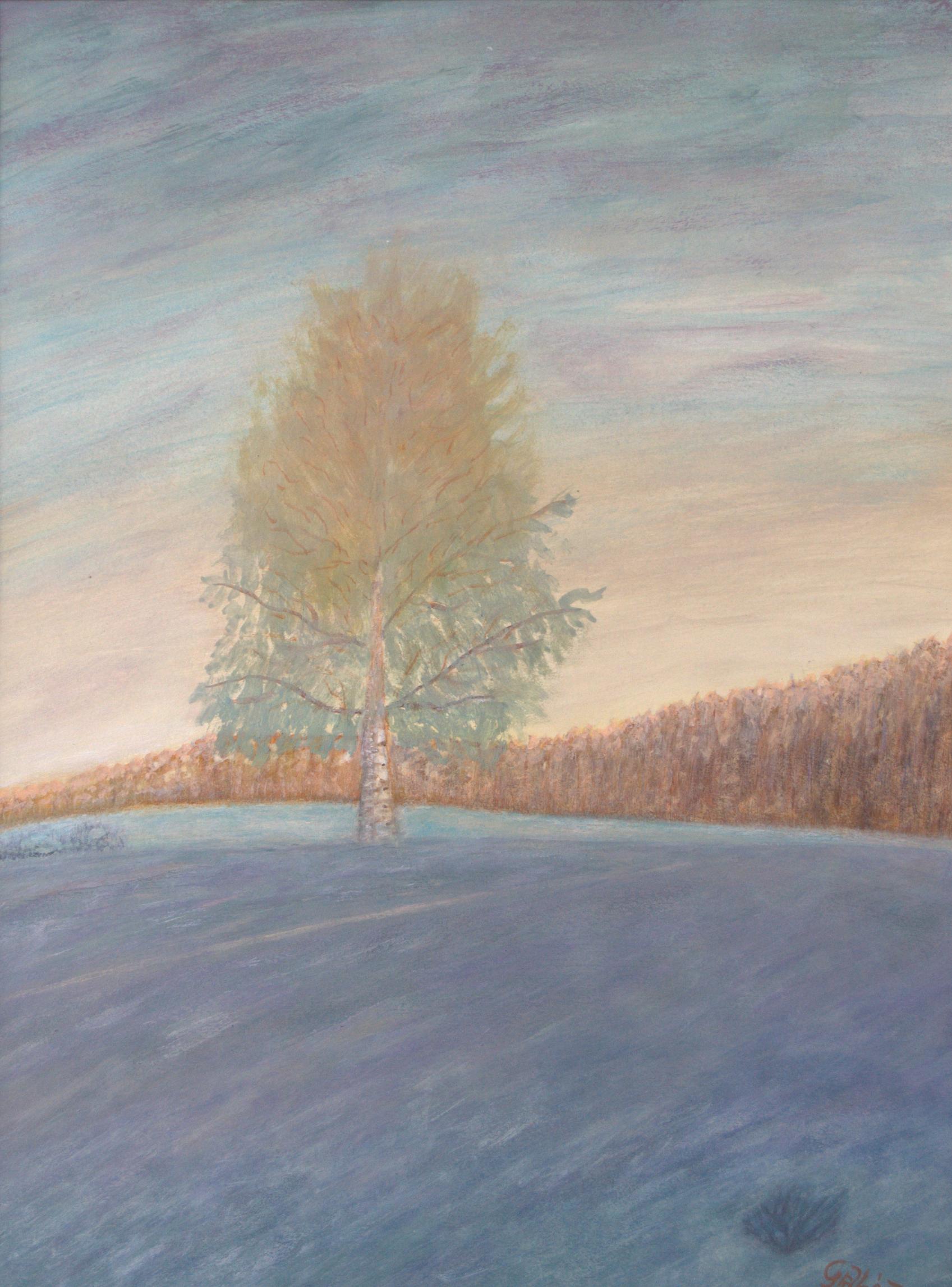 Karélia (akril, akvarellceruza, papír, 34x41 cm), 1997