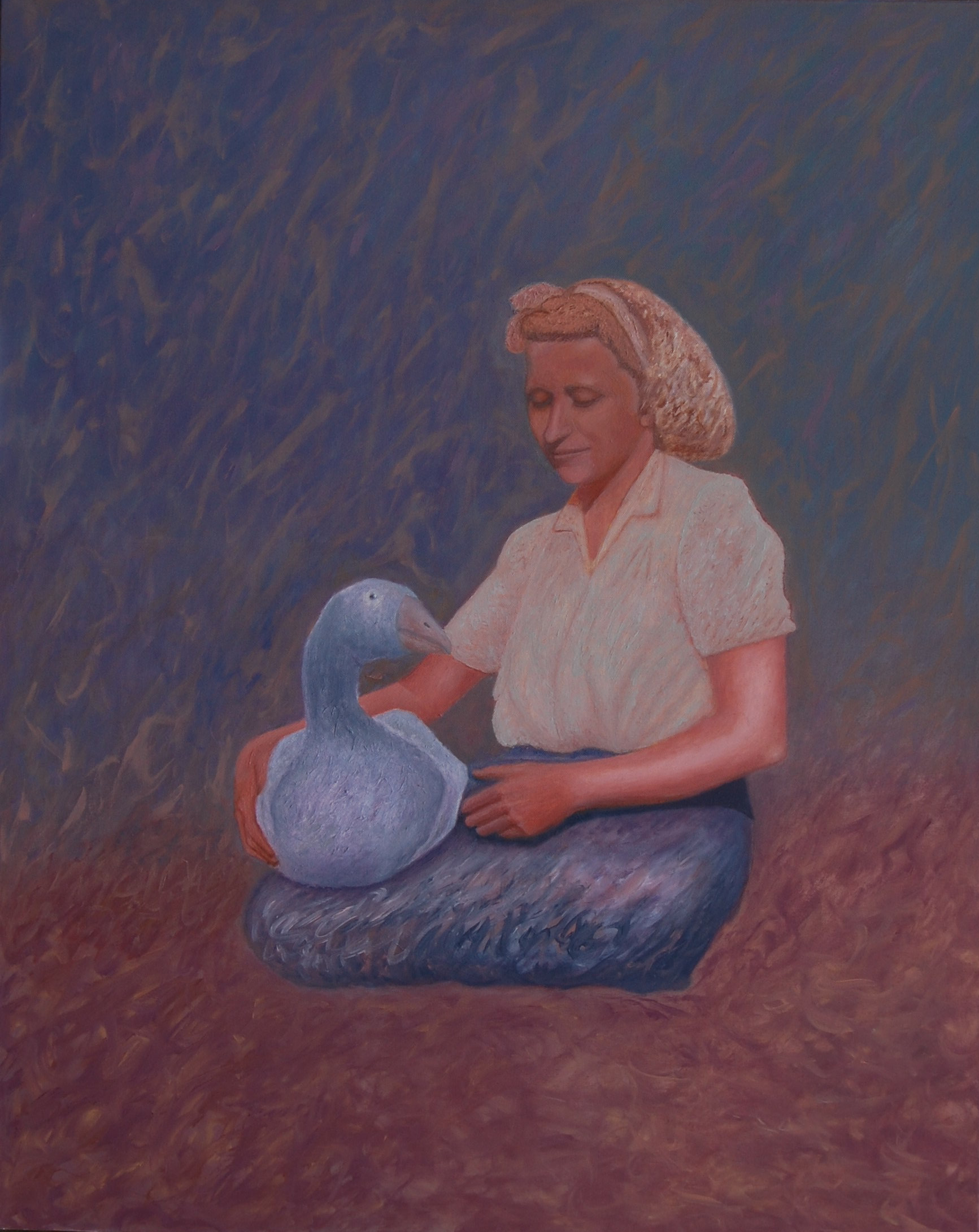 Lány (olaj, vászon, 80x100 cm), 2008-16